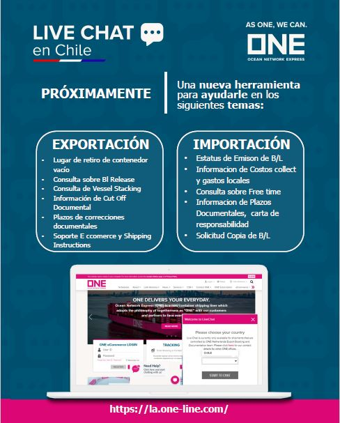 Campaña Live Chat Chile